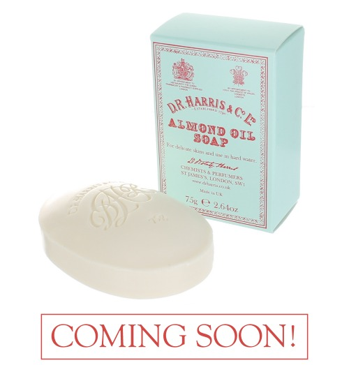 Almond Soap and Box Hand 150g